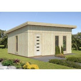 Palmako Nordic+ Gartenhaus Annika 21,5 m² - 160 mm