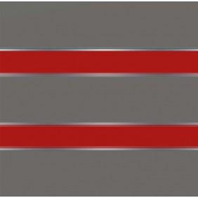 elevato Zaunserie Baveno Typ 2.7 Anthrazit/Signalrot