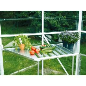 Vitavia Abklappbarer Tisch aus Aluminium für Gewächshaus Hera