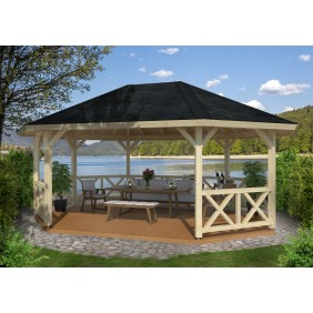 Palmako Pavillon Betty 25,0 m²