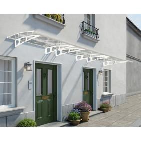 Palram Vordach Bordeaux 6690 weiß / klar
