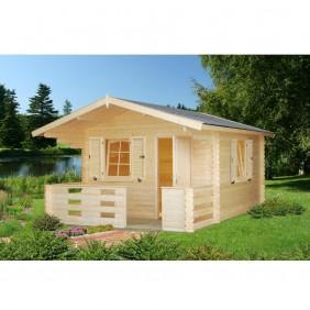 Palmako Gartenhaus Sylvi 10,4 + 4,2 m² - 34 mm