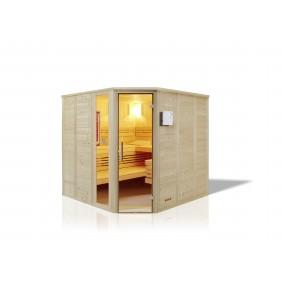 Infraworld Sauna Indigo - 40 mm Massivholzsauna