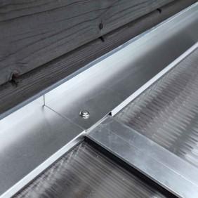 Skan Holz Wandabschlussprofil für Terrassenüberdachungen