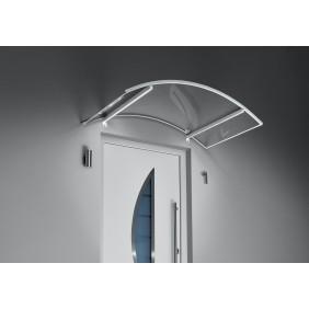 Gutta Bogenvordach mit LED-Technik weiß 3 mm, klar