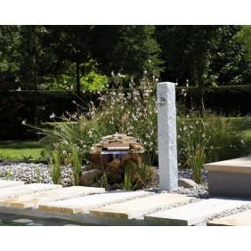 Graf Garantia Granit Wasserzapfsäule heller Granit Anwendung