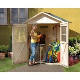 Weka 14 mm Garten- und Terrassenschrank mit Satteldach