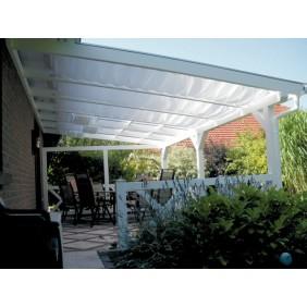 Skan Holz Sonnensegel für Terrassenüberdachung 434 cm breit