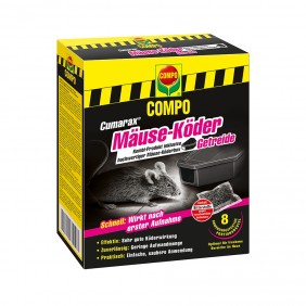 Cumarax Mäuse-Köder Getreide + Box 80 g