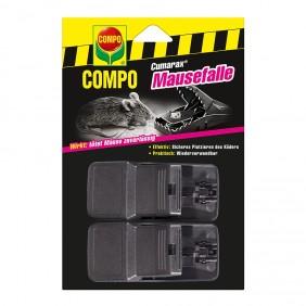 COMPO Cumarax Mausefalle 2 Fallen