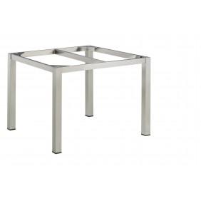 Kettler CUBIC-Tischgestell 95 x 95 cm, Edelstahl