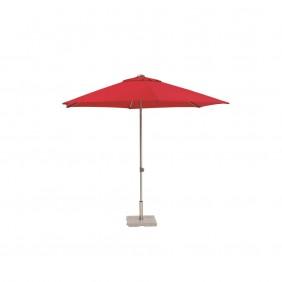 Kettler Schirm Easy 300cm silb/rot Alu 156x16x16