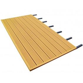Skanholz WPC Fußboden passend zu Terrassenüberdachungen