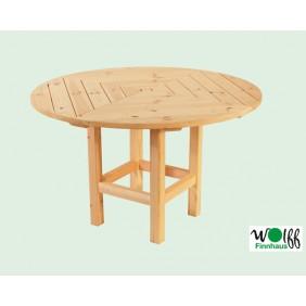 Wolff Finnhaus runder Tisch für Pavillon Kreta 6, Kreta 8, Palma und Ibiza
