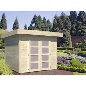Palmako Gartenhaus Lara 6,0 m² - 28 mm - naturbelassen