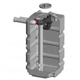REWATEC Regenspeicher Kellertank Basis - Filtertank