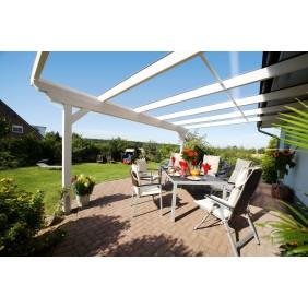 Skan Holz Echtglas-Dacheindeckung für Terrassenüberdachungen