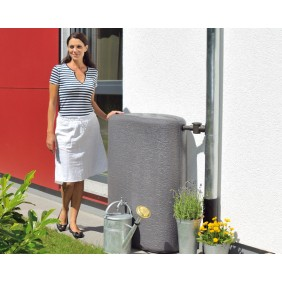 Graf Garantia Regenwasserbehälter Terranova Wandtank (Abb. mit optionalem Auslaufhahn)