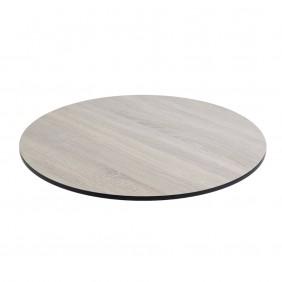 Diamond Garden DiGa Compact Tischplatte 68cm Rund Eichesägerau