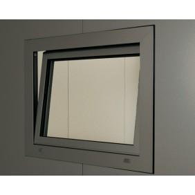 Biohort Metall Gartenhaus CasaNova Aluminium-Dreh-Kippfenster