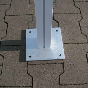 KGT Aufschraub-Set für Aluminium Carports Weser und Elbe