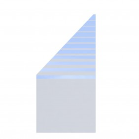 TraumGarten Glaselement Design BETA Anschluss  links