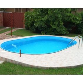 myPOOL Poolset Premium Ovalform mit Sandfilteranlage 120/150 cm Höhe