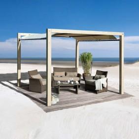 Weka Sonnendach Terrassendach Gartenoase Siesta