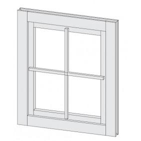 Karibu Dreh-/Kippfenster länglich 28 mm