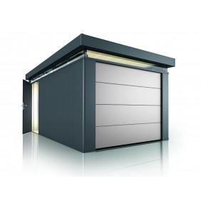 Biohort CasaNova Deckensektionaltor Metall Gartenhaus