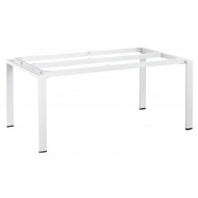 Kettler FLOAT-Tischgestell 160 x 95 cm, Aluminium weiß