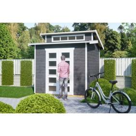 Skan Holz 28 mm Gartenhaus Blockbohlenhaus Gent