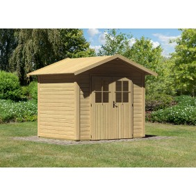 Karibu Woodfeeling Gartenhaus Linau 3 - 28 mm