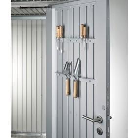 Werkzeughalter für Biohort Gerätehaus Avantgarde silber-metallic
