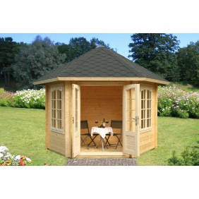 Palmako Pavillon Hanna 7,6 m² FSC Mix 70 % - 34 mm