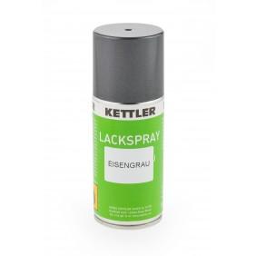 Kettler Lackspray 150 ml - Eisengrau, Vorderseite
