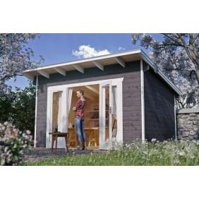 Skan Holz 28 mm Gartenhaus Ostende 1