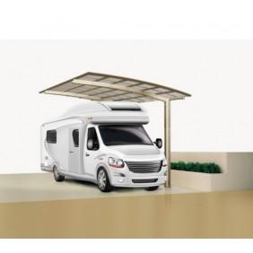Ximax Carport Portoforte Typ 80 495 x 270 cm Caravan Ausführung-mattbraun