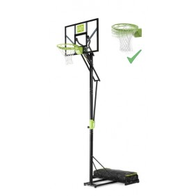 Exit Polestar Transportabler Basketballkorb mit Dunkring