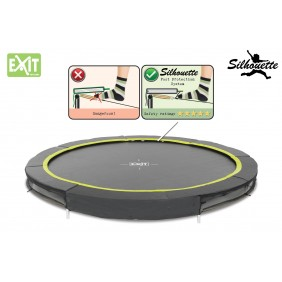 Exit Silhouette Bodentrampolin