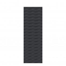 TraumGarten Flow 3D-Design Rechteck 60x180 cm Anthrazit