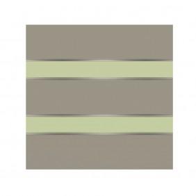 elevato Zaunserie Baveno Typ 2.2 Steingrau/Mint