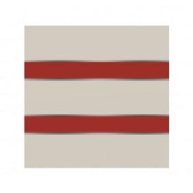 elevato Zaunserie Baveno Typ 2.5 Weiß/Signalrot