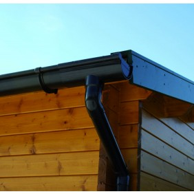 Kunststoff Dachrinnenset 376B für Erkerdächer