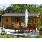 Skan Holz 28 mm Terrassenhaus 28 Aufbaubeispiel