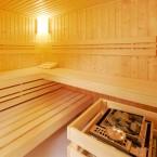 Infraworld Sauna Innenaussattung