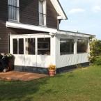 Skan Holz Polyester Partyzeltwände für Terrassenüberdachungen für die Seite (Wandanbau)