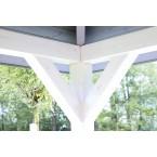 Skan Holz Pavillon Cannes-Innenansicht