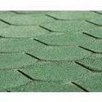 Weka Biberschwanz- Dachschindeln grün