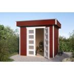 Skan Holz 28 mm Blockbohlenhaus Venlo 1
